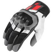 Icon Overlord Gloves Red